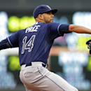 Price throws 8 shutout innings; Rays top Twins 5-1 The Associated Press
