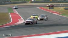 Coulthard On Texas Podium