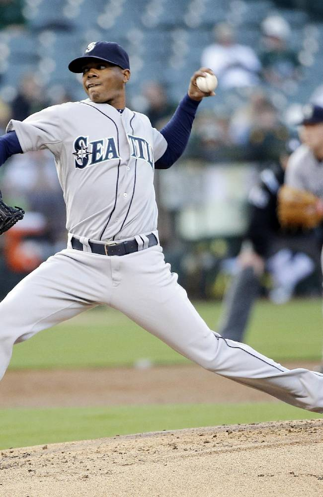 Elias wins second straight as Mariners beat A's