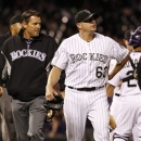 Rafael Betancourt faces possible disabled list stint after injuring right groin photo