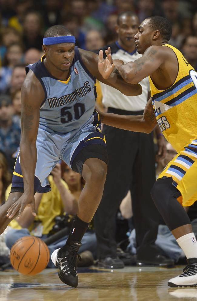 Nuggets snap skid with 111-108 win over Grizzlies