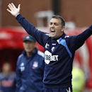 Former Bolton Wanderers manager Owen Coyle during an English Premier League soccer match on May 13, 2012. REUTERS/Andrew Winning
