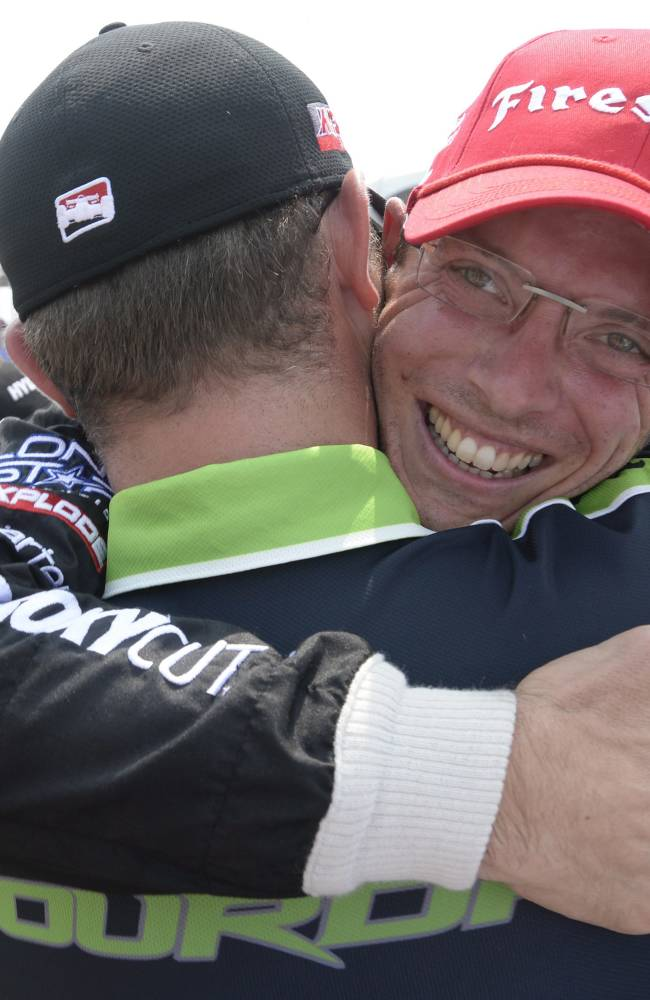 Bourdais and Conway win in IndyCar doubleheader
