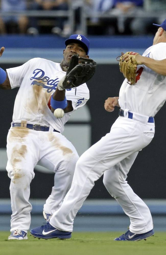 Dodgers' Puig has left hip soreness