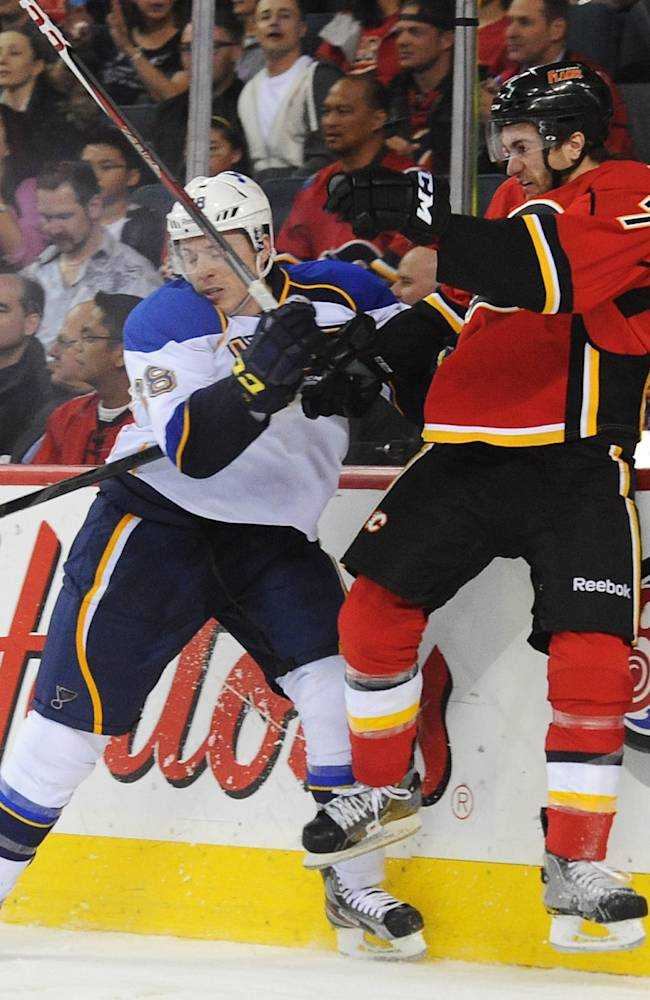 St. Louis Blues v Calgary Flames