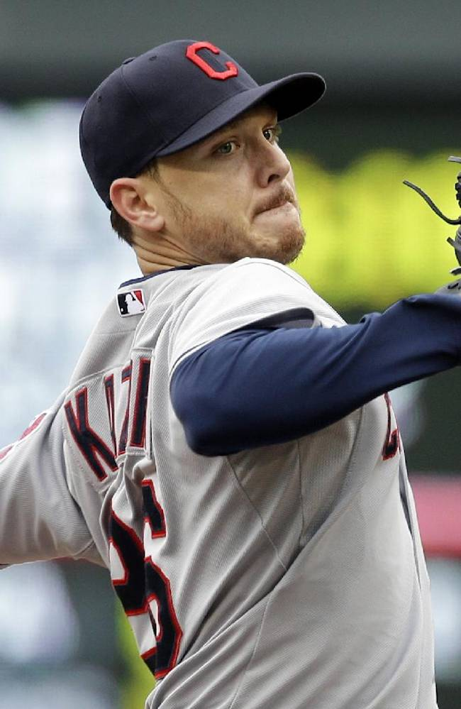 AP Source: A's closing in on deal for lefty Kazmir