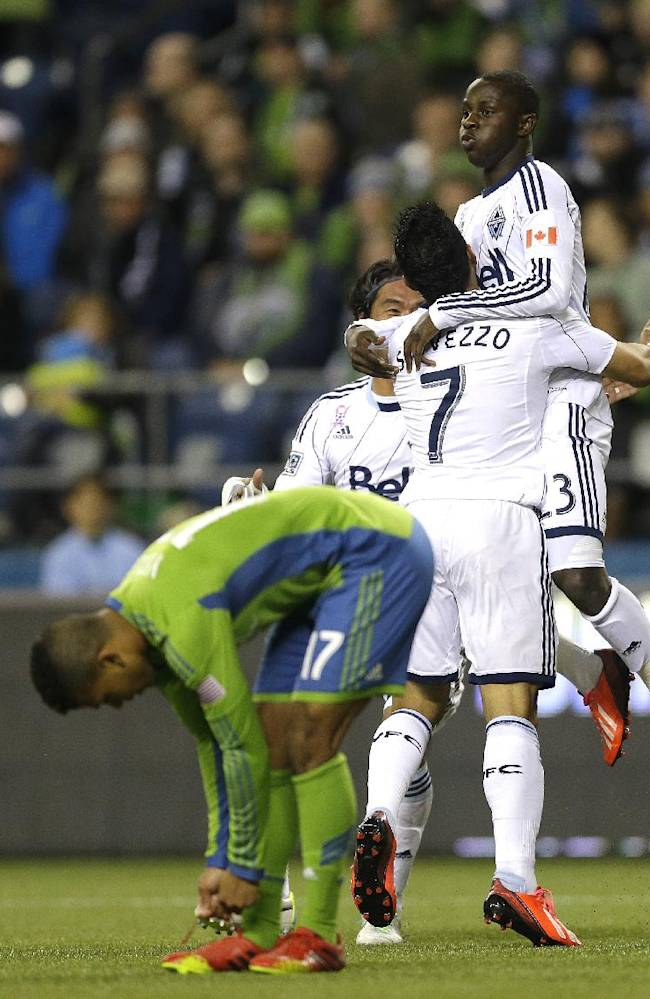 Vancouver goes on road, routs Seattle 4-1