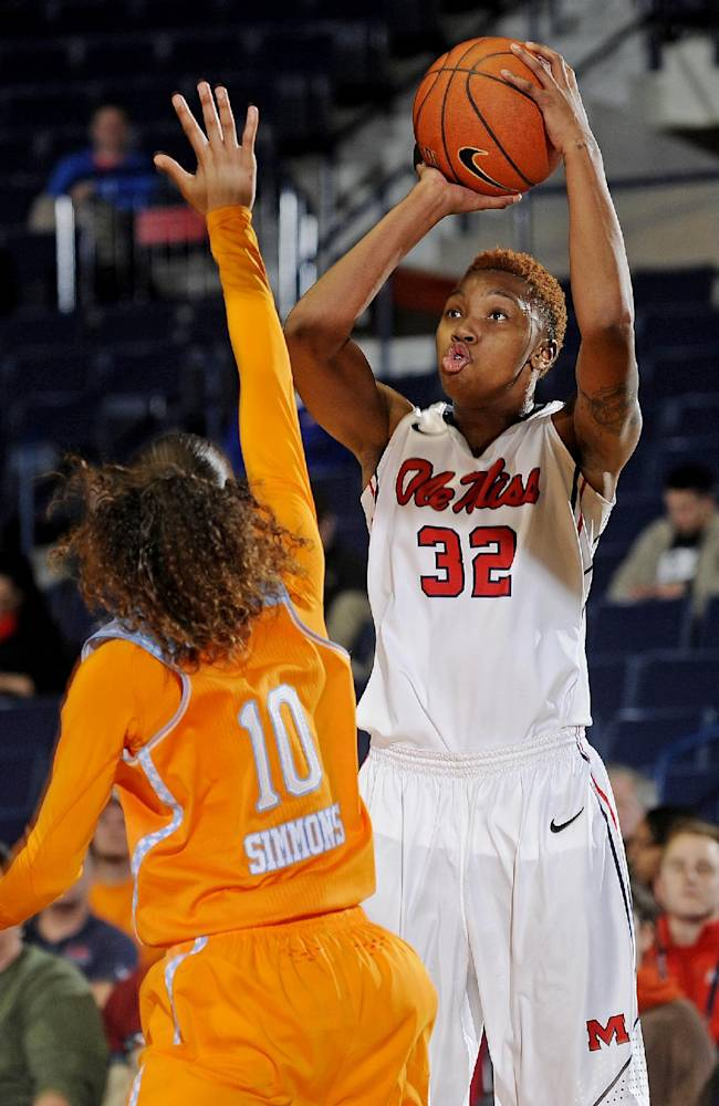 Ole Miss falls 77-65 to No. 8 Lady Vols