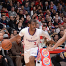 Chris Paul #3 of the Los Angeles Clippers drives to the basket during a game against the New Orleans Pelicans at STAPLES Center on March 1, 2014 in Los Angeles, California. (Photo by Andrew D. Bernstein/NBAE via Getty Images)
