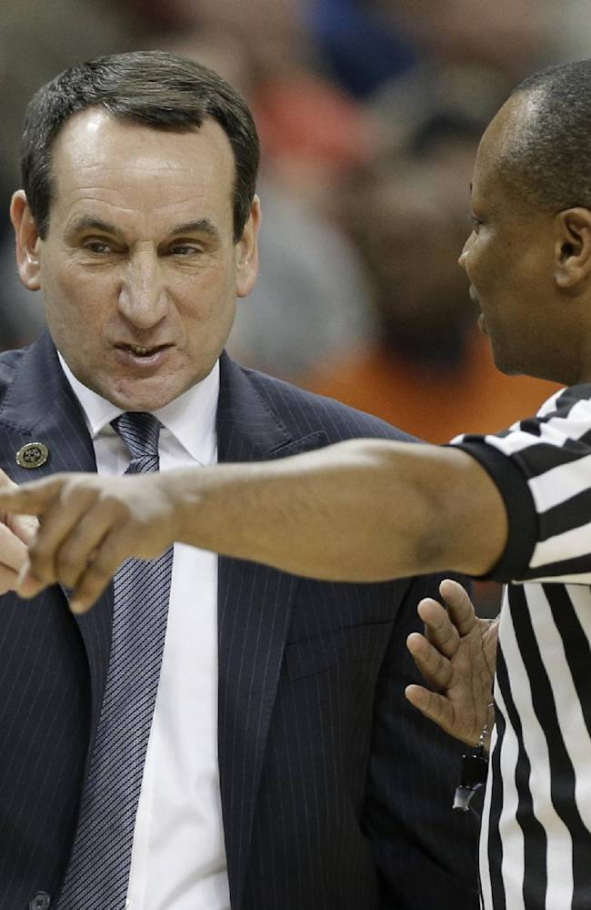 Duke: Coach K back at practice after dizzy spell