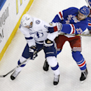 Rangers captain McDonagh had broken foot The Associated Press