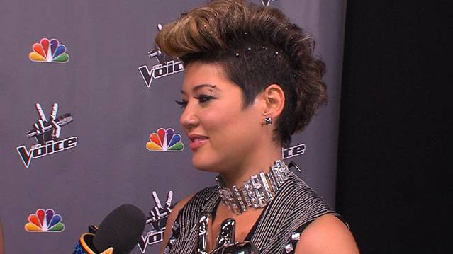 'The Voice': Backstage With Winner Tessanne Chin
