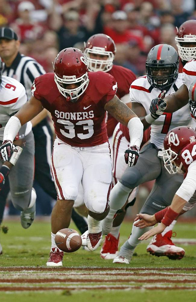 Oklahoma's Millard out for season with knee injury