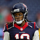 DeAndre Hopkins not at Texans camp, displeased over his contract