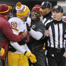 Redskins' Santana Moss reflects on 'cursed' career The Associated Press