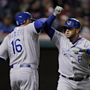 Shields, Moustakas lead Royals past Indians 8-2 The Associated Press