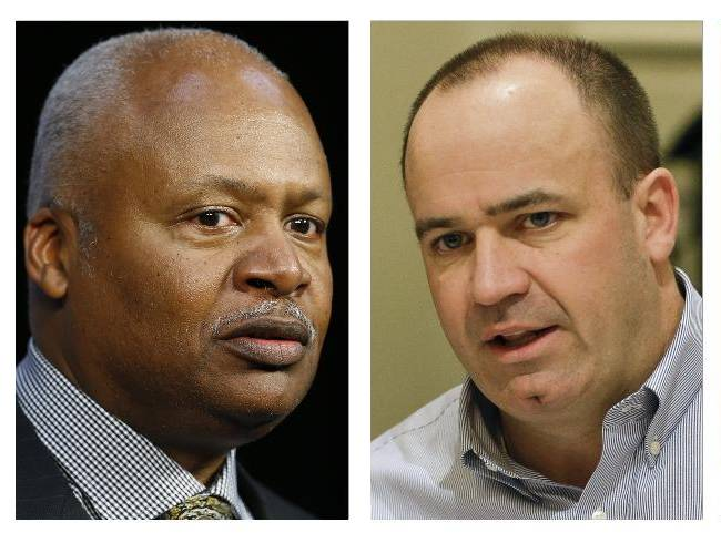 From left are 2014 file photos showing Minnesota Vikings coach Mike Zimmer, Detroit Lions coach jim Caldwell, Houston Texans coach Bill O'Brien and Tampa Bay Buccaneers coach Lovie Smith. Whether it is the calm demeanor of a Lovie Smith or Jim Caldwell, the cerebral approach of Bill O'Brien or the fiery passion of Mike Zimmer, the new NFL head coaches are stamping their personalities on their teams