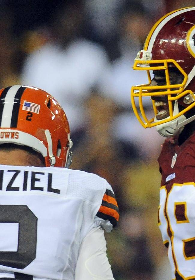 Manziel, Browns agree he's not ready to start