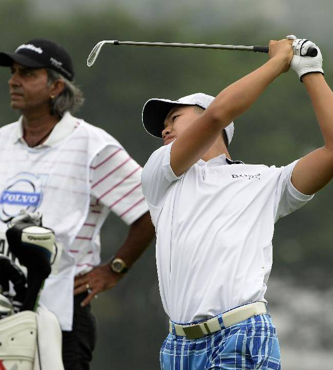 Guan Tianlang fails to make cut at China Open