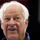 FILE - In this Feb. 2, 2012 file photo, Hockey Hall of Famer Gordie Howe, part owner of the Western Hockey League's Vancouver Giants, looks on during news conference in Vancouver, British Columbia. Hockey great Gordie Howe has lost some function on the right side of his body after having a stroke Sunday, Oct. 26, 2014 in Texas. (AP Photo/The Canadian Press, Darryl Dyck, File)
