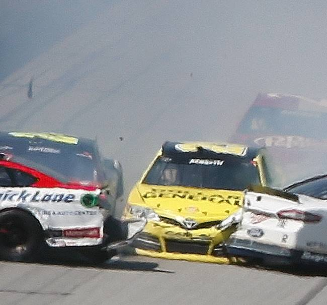 Keselowski undeterred after Talladega mishaps