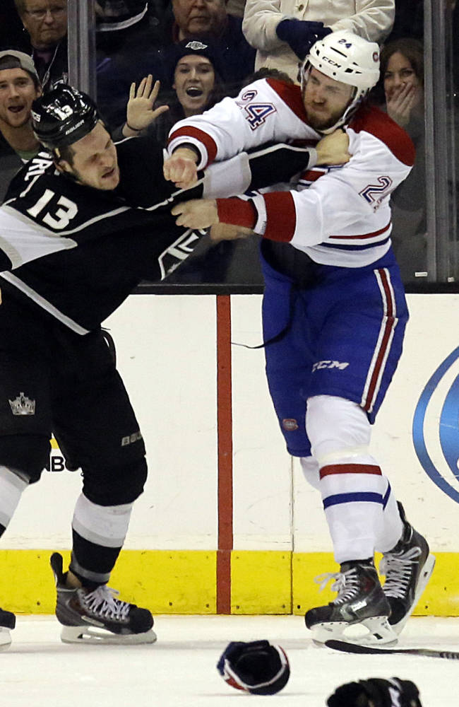 LA Kings beat Montreal 2-1 for 5th straight win