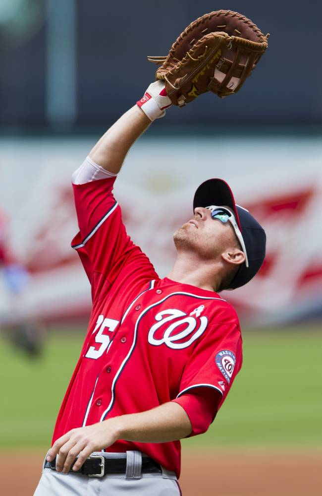 Washington Nationals v Cleveland Indians