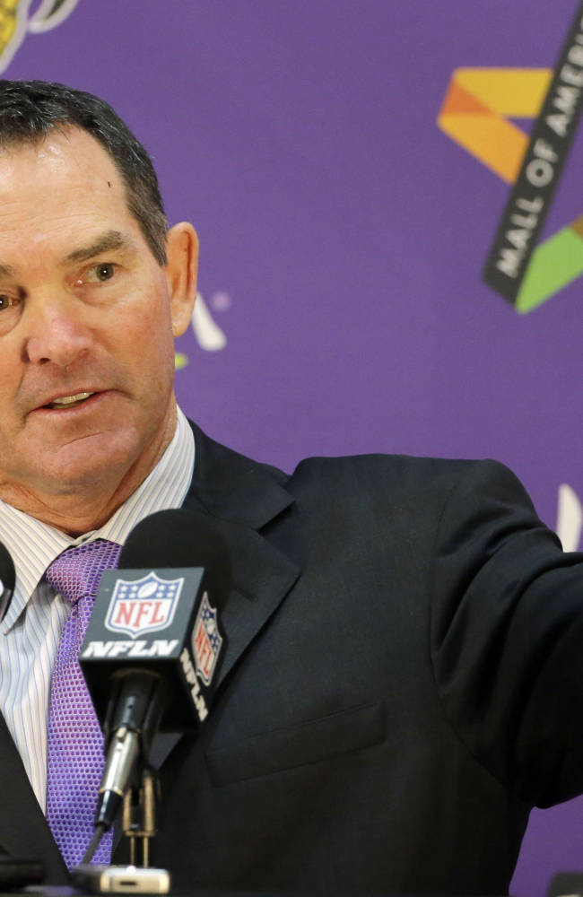 Confident Zimmer takes over as Vikings coach
