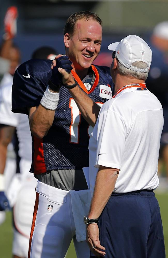 Manning showing a smell-the-roses approach