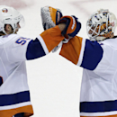 Islanders beat Bruins 3-2, Chara injured (Yahoo Sports)