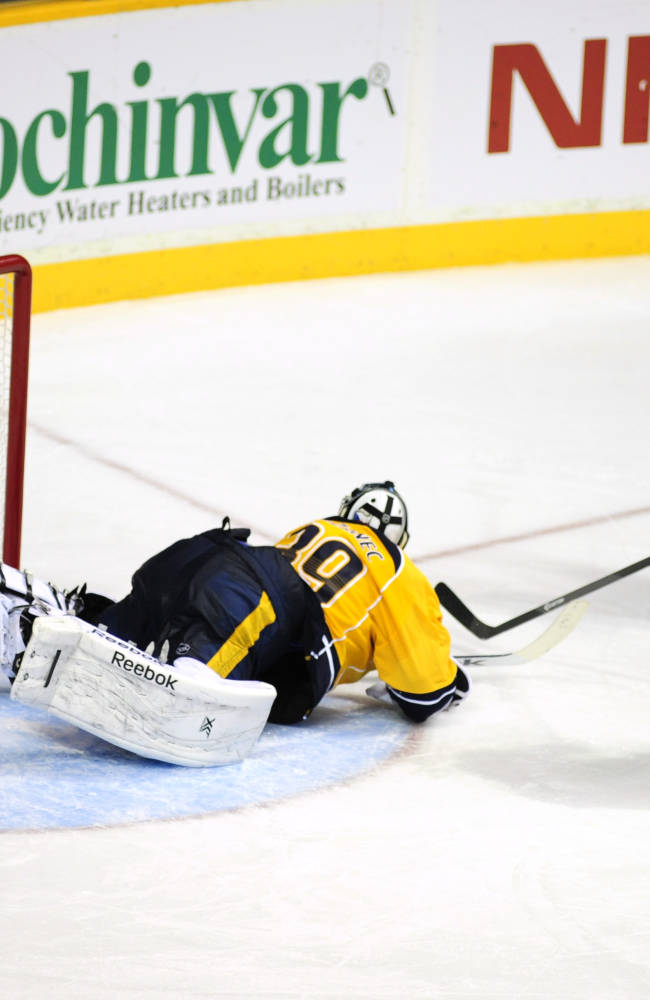 Talbot, Rangers shut out Predators 2-0