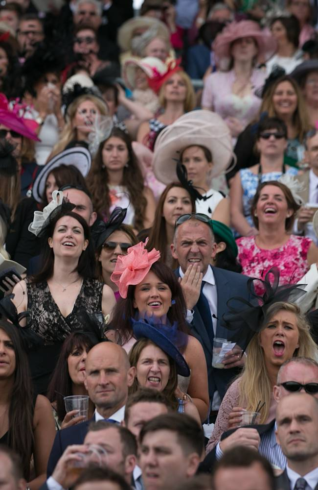 Racegoers Attend Ladies Day At Royal Ascot