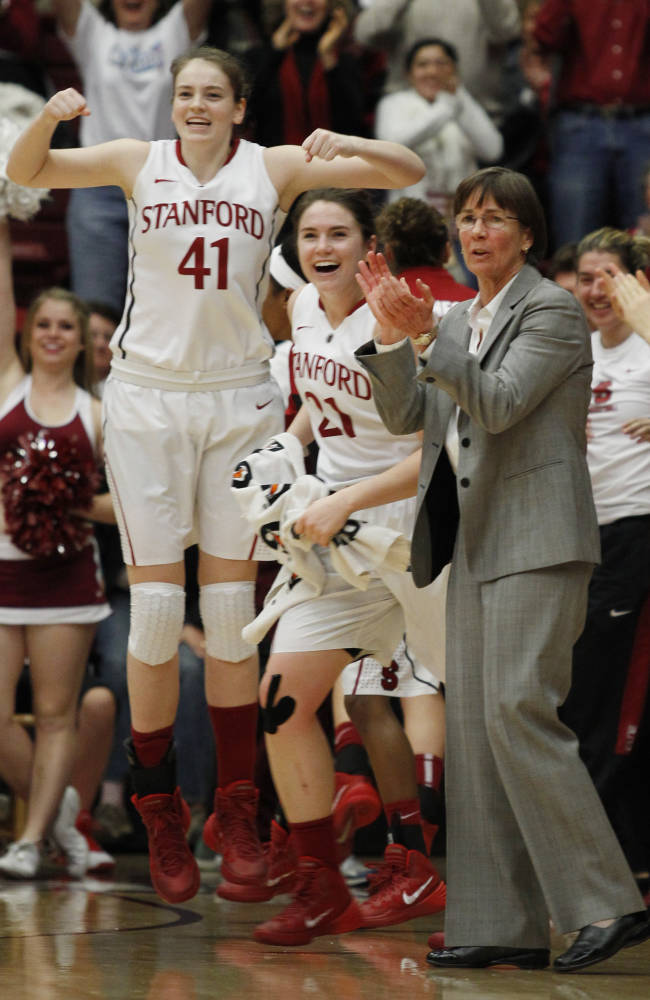 No. 4 Stanford beats 21st-ranked California 70-64