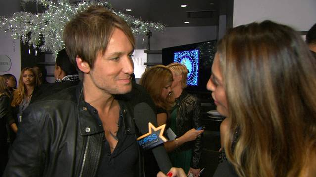 Keith Urban Dishes On Grammy Nomination And Busy Schedule