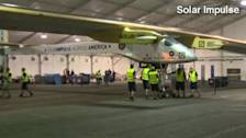 Solar plane set to make flight history
