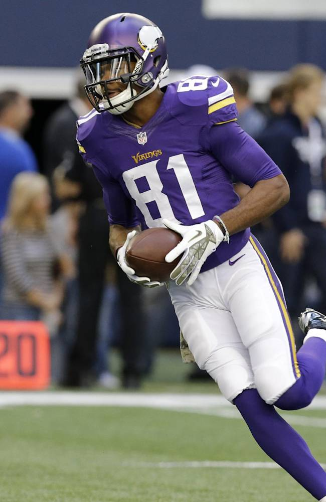 Vikings WR Simpson charged with DWI