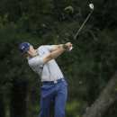 Jordan Spieth hits an approach shot from the 11th fairway during the second round of the Byron Nelson golf tournament, Friday, May 29, 2015, in Irving, Texas. (AP Photo/LM Otero)