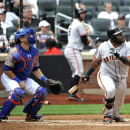 Sandoval's double in 9th sends Giants over Mets The Associated Press