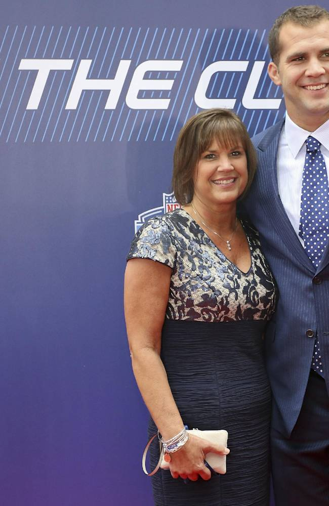 The NFL draft's top picks share about their moms