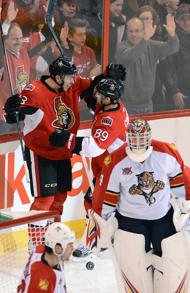 Turris leads Senators past Panthers, 3-2