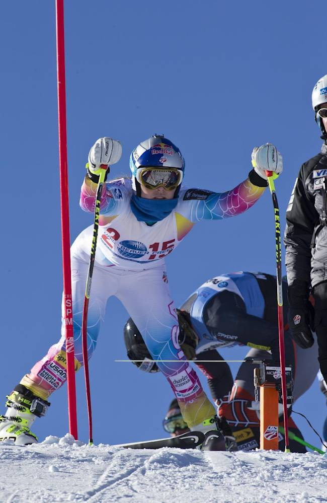 Vonn, Woods avoid talk about records