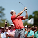 May 13, 2016; Ponte Vedra Beach, FL, USA; Jordan Spieth hits his tee shot on the 3rd hole during the second round of the 2016 Players Championship golf tournament at TPC Sawgrass - Stadium Course. Jason Getz-USA TODAY Sports