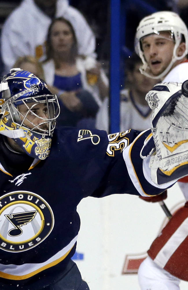 Playoffs approaching, Blues need goalie to step up