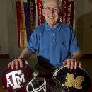 This image made July 12, 2012 shows Southeastern Conference Commissioner Mike Slive posed at the SEC headquarters in Birmingham, Ala.The SEC welcomes new members Texas A&M and Missouri into football competition this year. (AP Photo/Dave Martin)