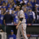 Lincecum gets in game, leaves with tight back The Associated Press