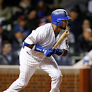 Chicago Cubs Emilio Bonifacio hits an RBI single against the Pittsburgh Pirates during the second inning of the MLB National League baseball game on Tuesday, April 8, 2014, in Chicago The Associated Press
