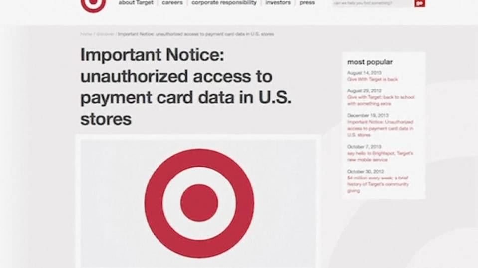Target's holiday hijacked by hack