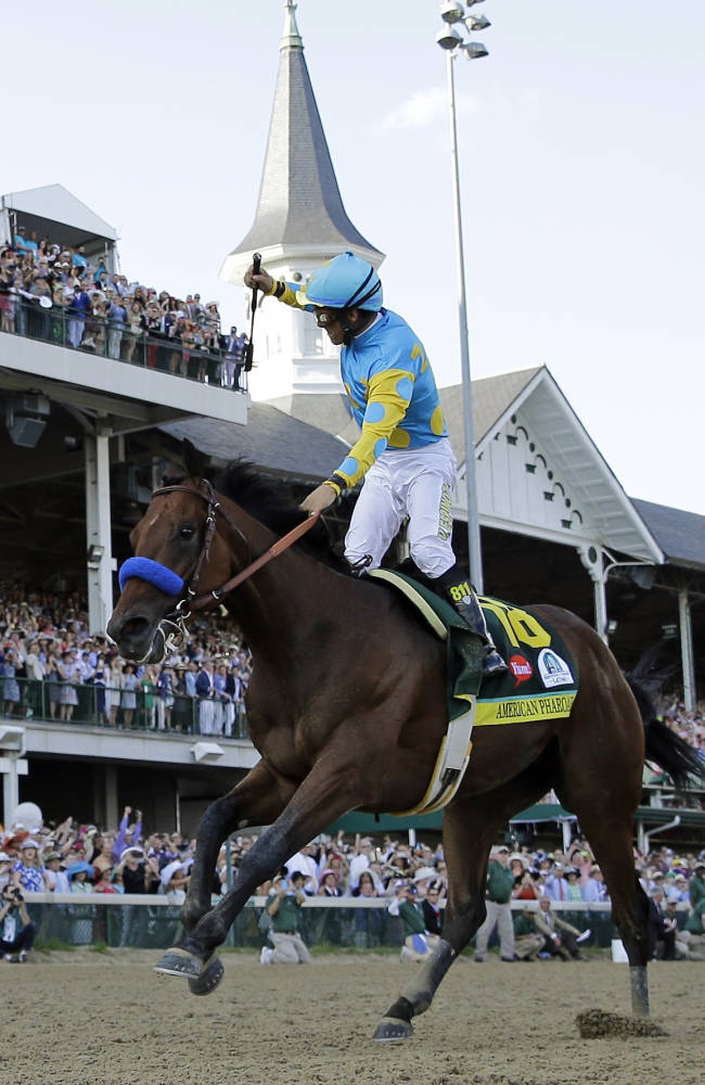 American Pharoah owner paved path of bold bets