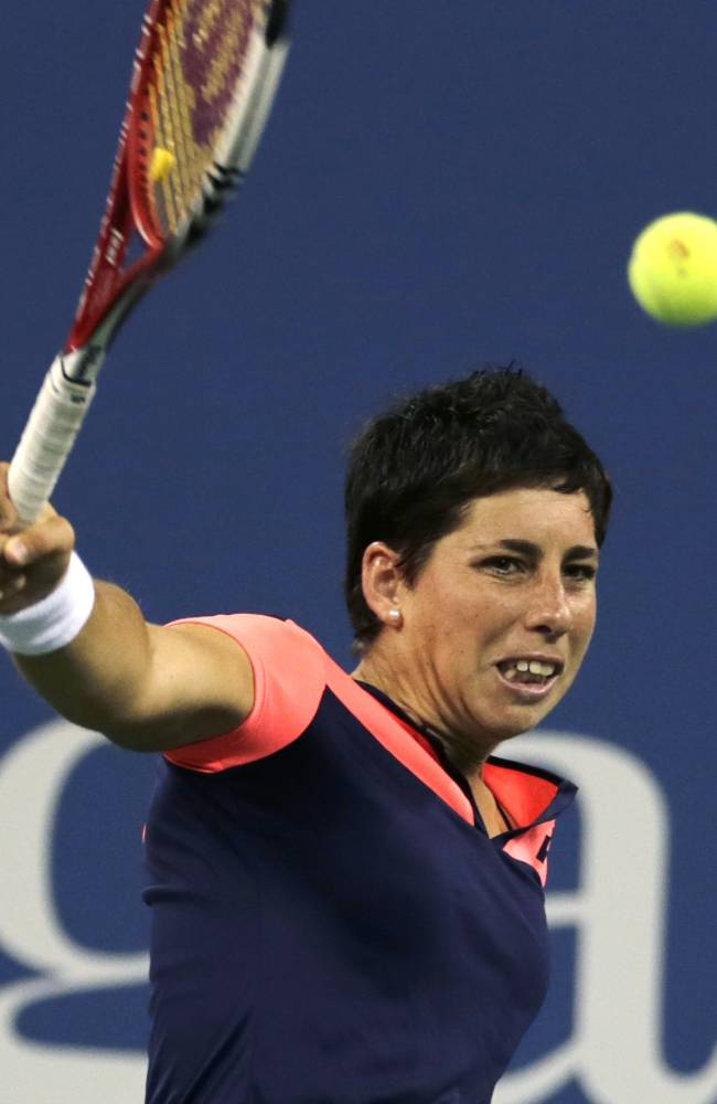 Carla Suarez Navarro advances at Kremlin Cup