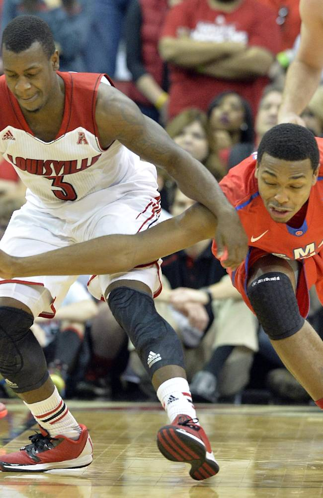 Jones out for No. 18 Louisville vs. Houston